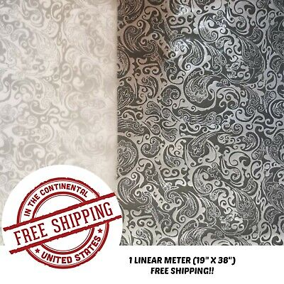 Hydrographic Film Water Transfer Hydro Dipping Dip Film Silver Flower 2 1m