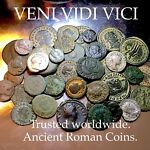 VENI VIDI VICI COINS & ANTIQUITIES