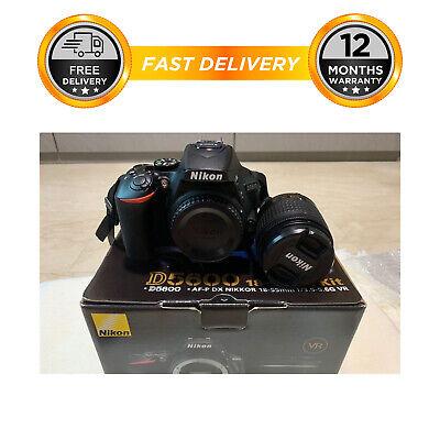 Nikon D5600 Digital SLR Camera + AF-P DX Nikkor 18-55mm f/3.5-5.6G