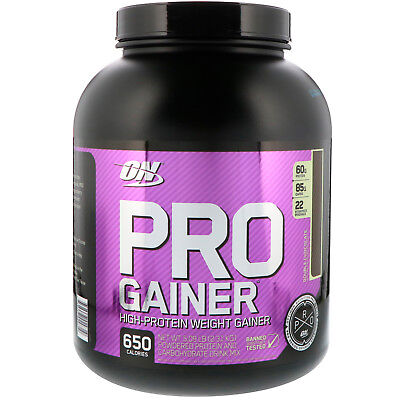 Pro Gainer, High-Protein Weight Gainer, Double Chocolate, 5.09 lbs (2.31 kg) High Protein Gainer
