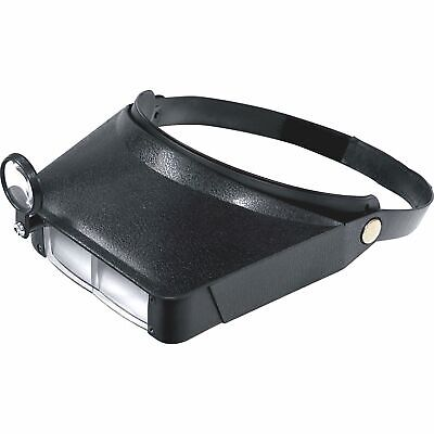 Headband Magnifying Visor With Adjustable Head Strap Jewelers Magnification Tool
