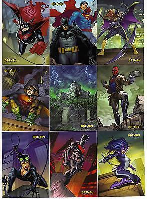 Cryptozoic Batman the Legend base set 1-63