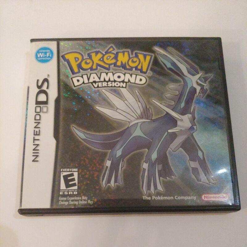 POKEMON Diamond Version Nintendo DS Case Only NO GAME