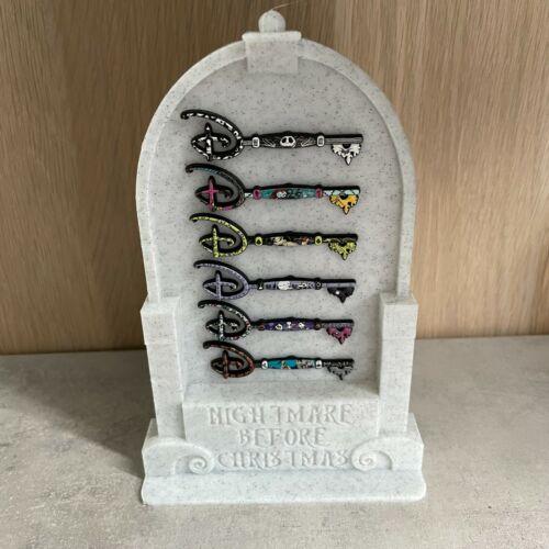 PrintNovex Display Stand for 6 Disney Key Pins -Theme Nightmare Before Christmas