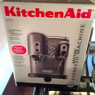 KitchenAid Artisan Espresso Machine Model 5KES100 in BLACK Waverley Eastern Suburbs Preview