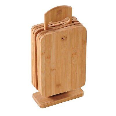 Kesper Schneidebrettchen Frühstücksbrettchen Set Bambus  22 x 14 x 0,8 cm  58375