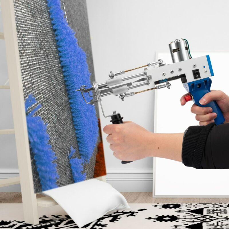 Electric Carpet Tufting Gun Carpet Weaving Flocking Machines Loop Pile Cut Pile