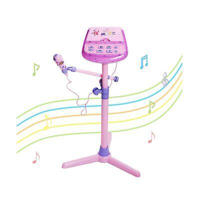 HANMUN Kids Karaoke Machine Microphone Stand