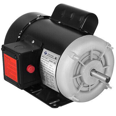 34 Hp Electric Motor 1 Ph 1750rpm 58 Shaft Outdoors 115230 V Waterproof