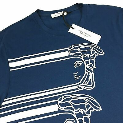 MEN'S VERSACE COLLECTION ICONIC MEDUSA TEE SHIRT (L) - NEW w/ TAGS
