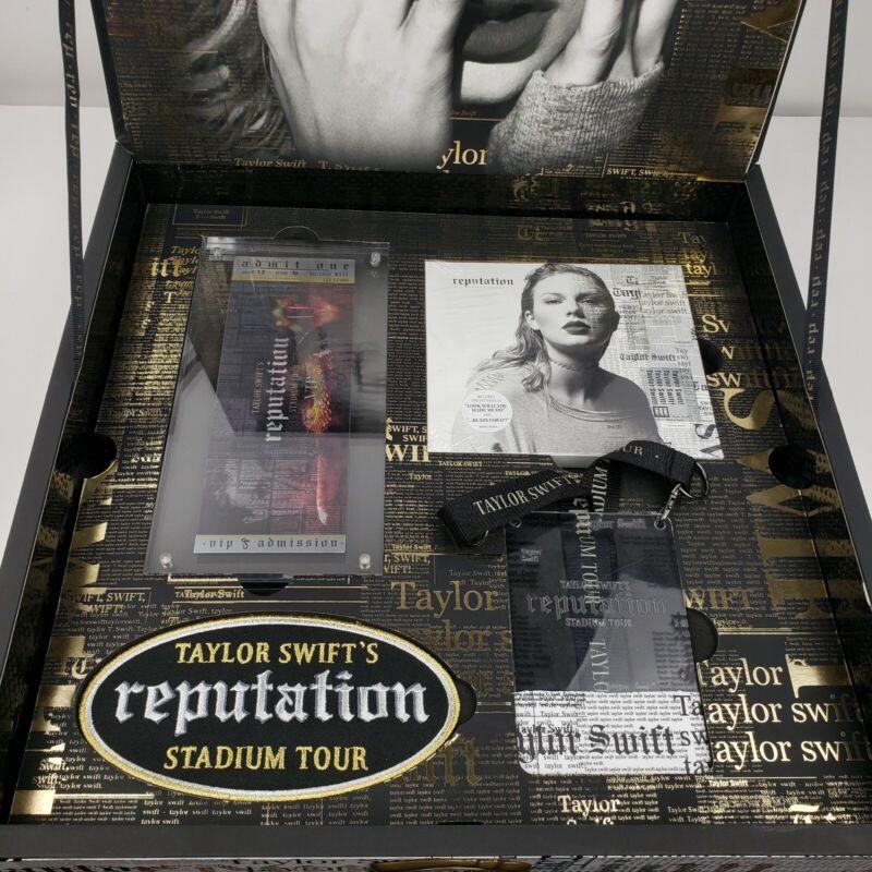 Taylor Swift Reputation Stadium Tour Vip Box Set CD Ticket Lanyard