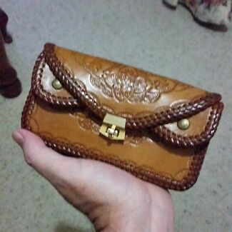 Ladies Leather Purse Grafton Clarence Valley Preview