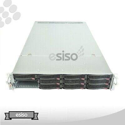 SUPERMICRO CSE-829U-X10DRU-I+ BAREBONE CHASSIS 12LFF 2x HS 2x PSU