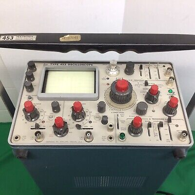 Tektronix 453 Oscilloscope Two Channel- Tested Working