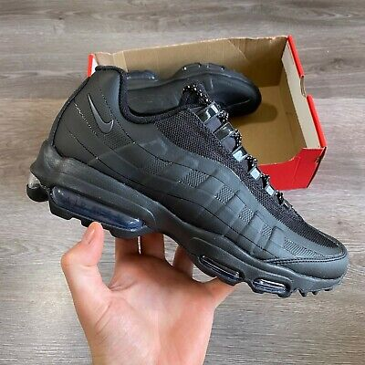 NIKE AIR MAX 95 UTILITY BLACK MENS TRAINERS SHOES UK7.5 EUR42 US8.5...