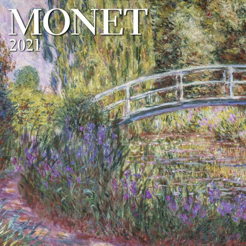 "Monet Mini Wall Calendar 2021, 7"" x 7"""