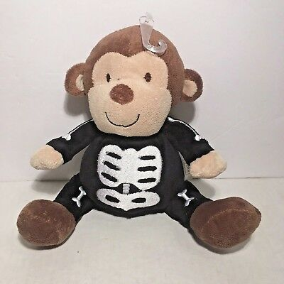 Carter's Just One You Halloween Skeleton Monkey Costume Lovey Plush Toy  - Carter's Halloween Costume