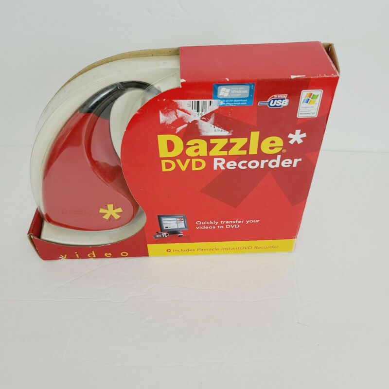 DAZZLE DVD RECORDER PiNNACLE INSTANTDVD ViDEO CAPTURiNG DEViCE NEW IN PACKAGE