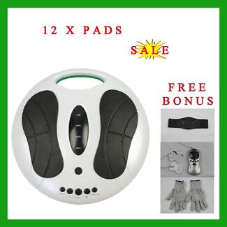 Electromagnetic Wave Circulation Foot Booster +Tens Masssager