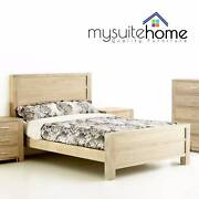 Tribeca Chinese Oak Queen/King Size Bed Frame Dandenong South Greater Dandenong Preview