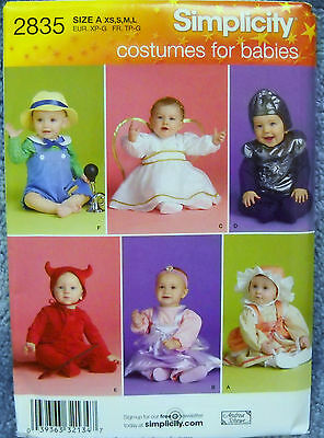 Flower Costumes For Babies (Simplicity Pattern #2835 Costumes for Babies Angel, Devil, Flower Knight &)