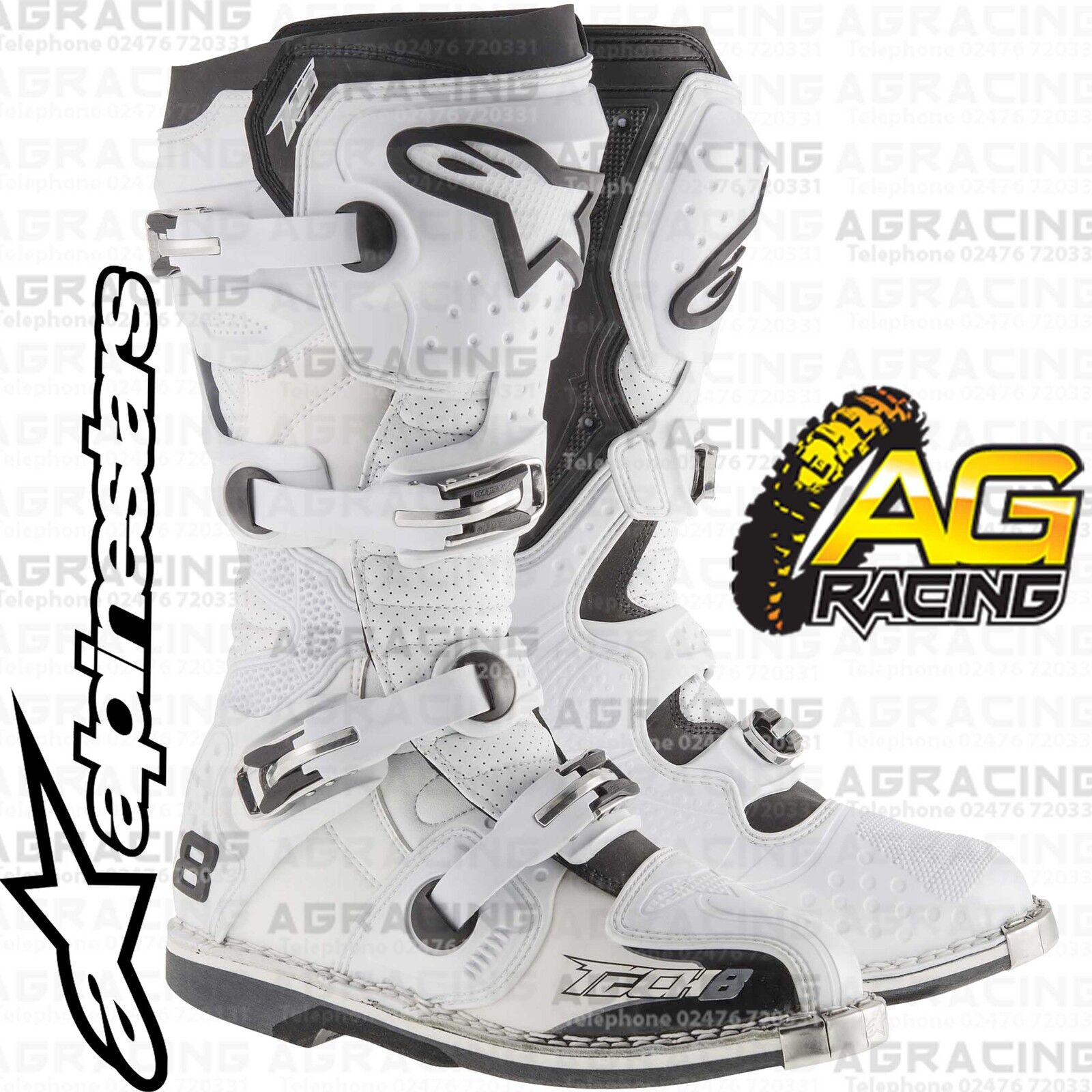Alpinestars Buckle and Screw Set for 2015 Tech 5
