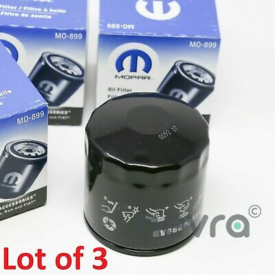 Mopar 04884899AB Engine Oil Filter MO-899 (Lot of 3)