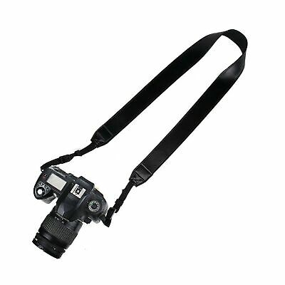 Elvam PU Leather Camera Neck Shoulder Strap Belt for Men/Wom