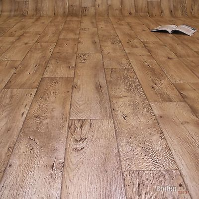 Floordirekt M² PVC CV Vinyl Bodenbelag - Vinylboden mit schrift