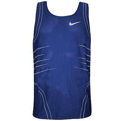 Nike Mens Sleeveless Tank Training Gym Vest Blue 712425 450