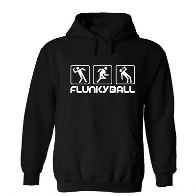 Flunkyball Icons Hoodie Kapu Pullover Sweatshirt Fun Festival Rock Ring Saufen Icon Pullover Hoodie