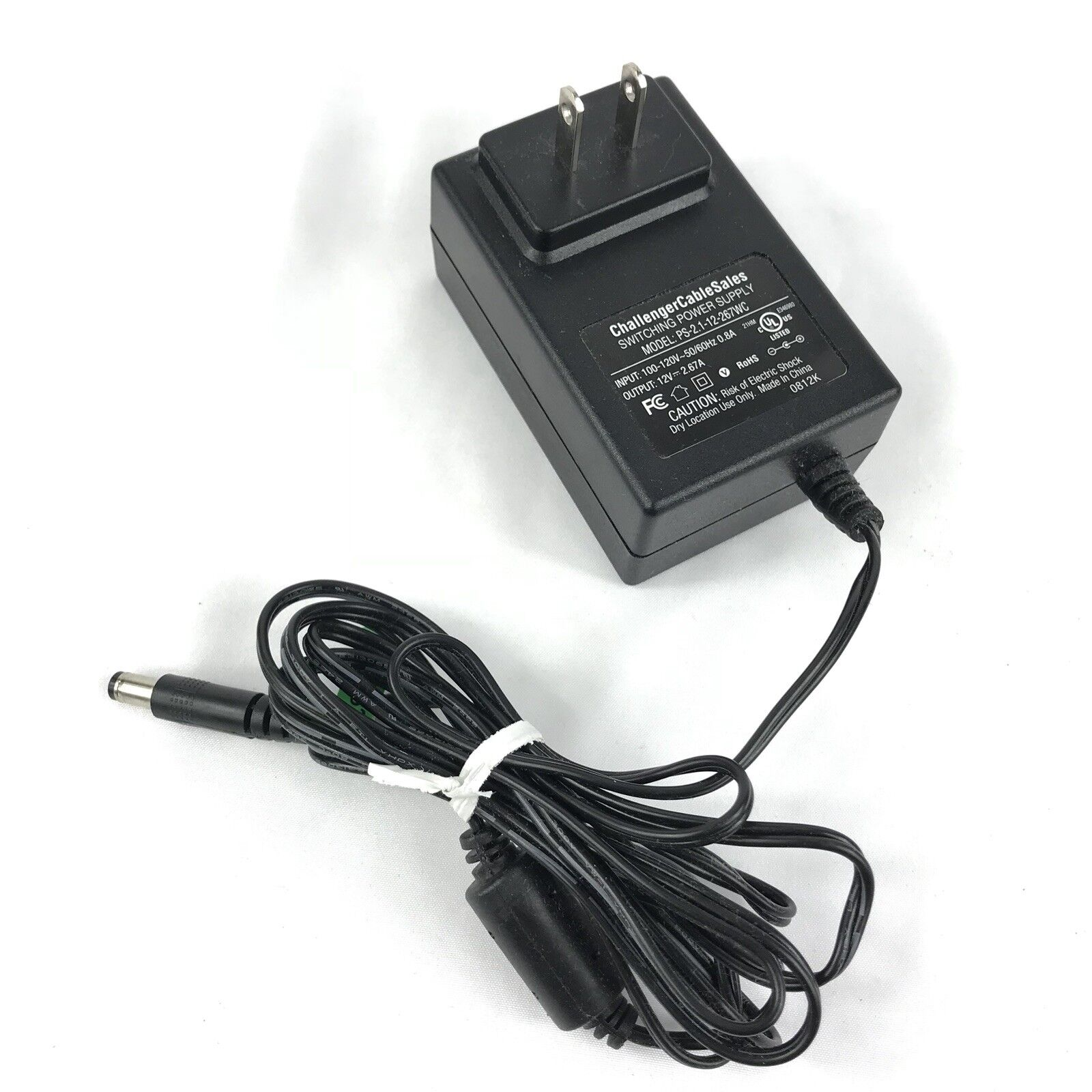 Challenger Sales Cable Switching Power Supply Adapter PS-2.1-12-267WC  EPS-26