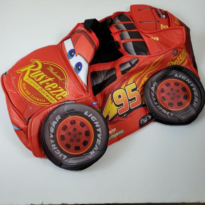 Disney Pixar Cars 3 Lightening McQueen Costume ONe Size Foam