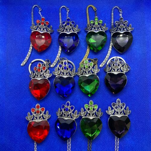 Descendants Heart Crown - Pendant Necklace / Keychain Keyring / Bookmark NEW