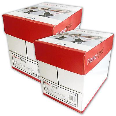 5000 Blatt Kopierpapier A4 Marke Plano Speed Drucker-papier Copy Paper Laser Fax