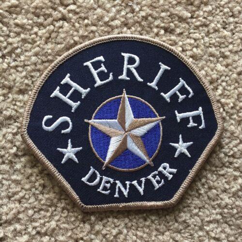 DENVER Colorado Sheriff patch