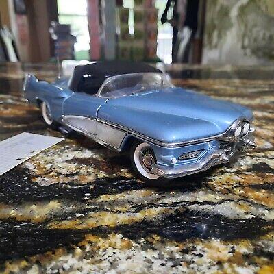 Franklin Mint 1:24 Scale 1951 Buick LeSabre Teal Show Car Model no box $49