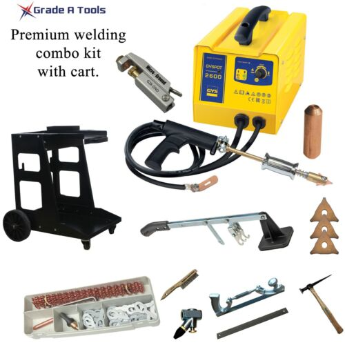Deluxe Package - GYS Dent puller - GYSPOT 2600 - Stud welder