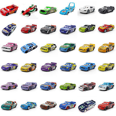 Cars 2 Toys Lightning Mcqueen the King Metal  DIE-CAST AUTO / Auswahl an Cars - Car 2 Toys