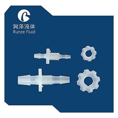 BC-048-M8-064E Bulkhead Reducing Hose Barb Connectorfor Electric Pump Hose Tube