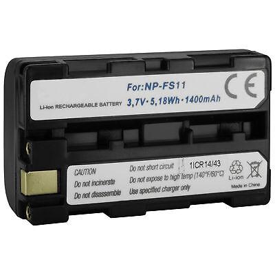 Akku NP-FS11 für  Sony Cyber-shot DSC-F55, F55V, F505, F505V, P1, P20, P30