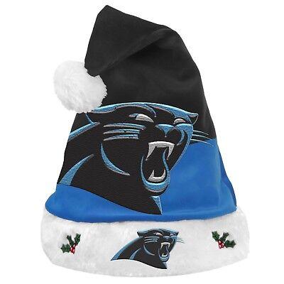 Carolina Panthers NFL 2018 Basic Santa Hat FREE SHIPPING