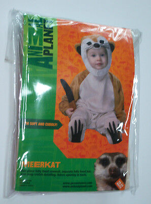 New Animal Planet Meerkat Plush Toddler Costume 18-24 Months