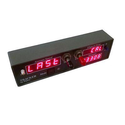 Kustom Signals Patco Radar Tracker Dash Mounted Average Speed Over Distance 2
