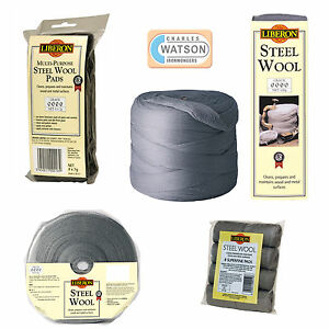 LIBERON-High-Quality-STEEL-WIRE-WOOL-Grade-Ultra-Fine-Super-Fine-0-1-2-3-4