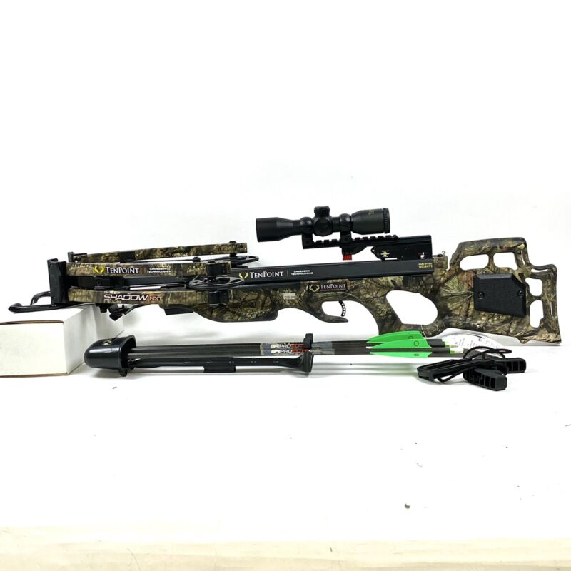 TenPoint Shadow NXT Rope Cocker Crossbow Package
