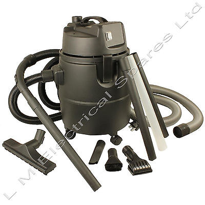 Heavy Duty 1400 Watt 30 Litre Pond Vacuum Cleaner Hoover Extension Cleaning Kit