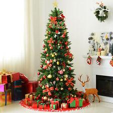Árbol de Navidad con Soporte 210cm 865 Ramas PVC Verde