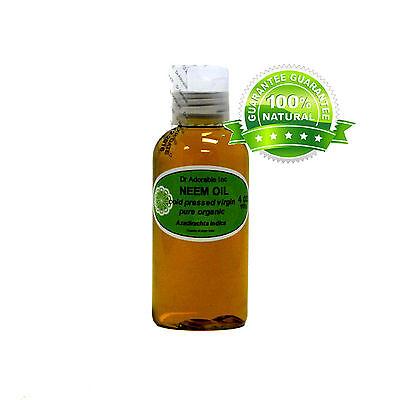 Premium Neem Oil 100% Pure Organic Cold Pressed Best Fresh 2 oz up to 7