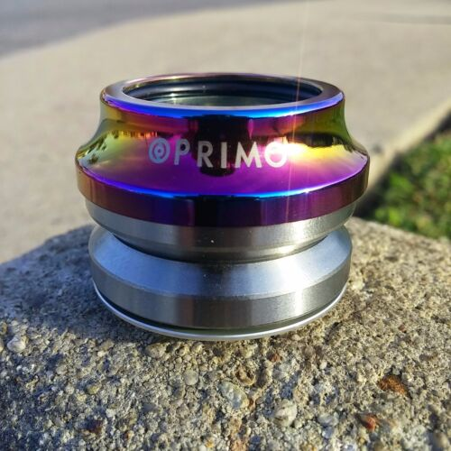 PRIMO BMX BIKE INTEGRATED BICYCLE HEADSET OIL SLICK FIT CULT ODYSSEY SUNDAY